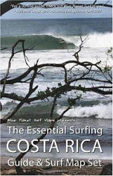 The Essential Surfing Costa Rica Guide & Surf Map Set