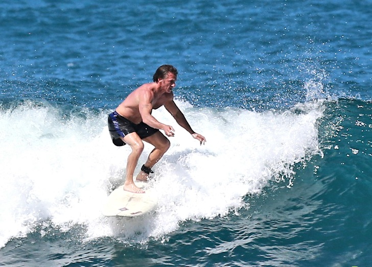 Sean Penn: he learned how to surf with Jeff Spicoli
