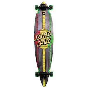 Santa Cruz 'Rasta Drop Thru' Longboard Cruzer