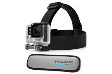 SandMarc Floater Head Strap for GoPro
