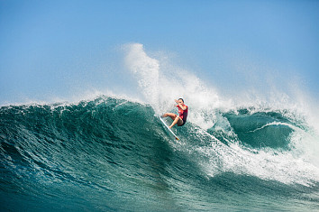 Carissa Moore: the Hawaiian won her 24th CT event in Newcastle | Photo: WSL