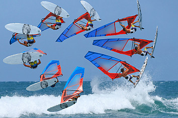 Sails: 3D technology is going to revolutionize windsurfing | Photo: Shutterstock