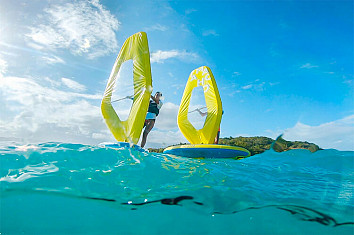 Tamahoo 100: the fully inflatable windsurfing kit by Decathlon | Photo: Decathlon