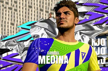 Gabriel Medina: he'll be playing football in Fifa 21