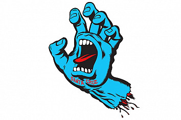 Screaming Hand: the iconic skateboard design created by Jim Phillips in 1985