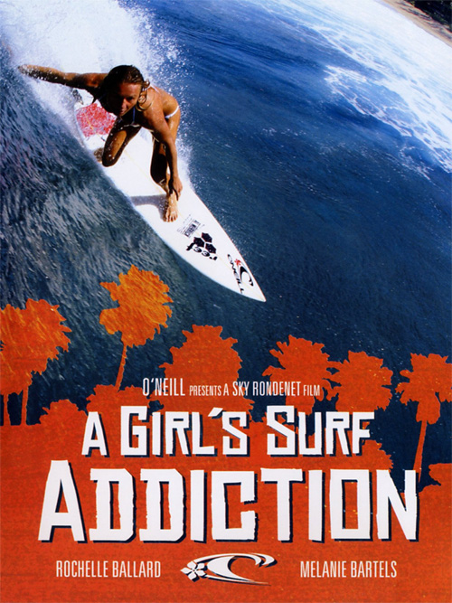 A Girl's Surf Addiction