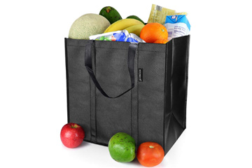 Large, Durable and Reusable Shopping Bag by EasyEarth