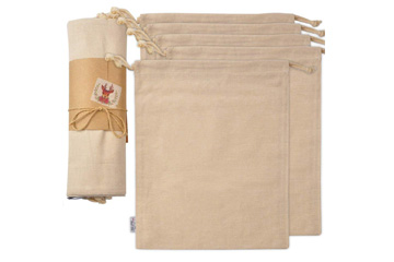 Washable Organic Cotton Bag by Small Fish