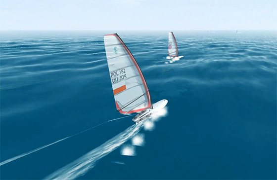 3D Windsurfing: review your performances from any angle