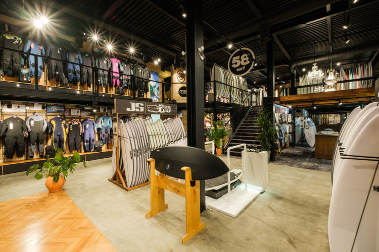 58 Surf Ericeira: 1,000 square meters of surf gear | Photo: 58 Surf