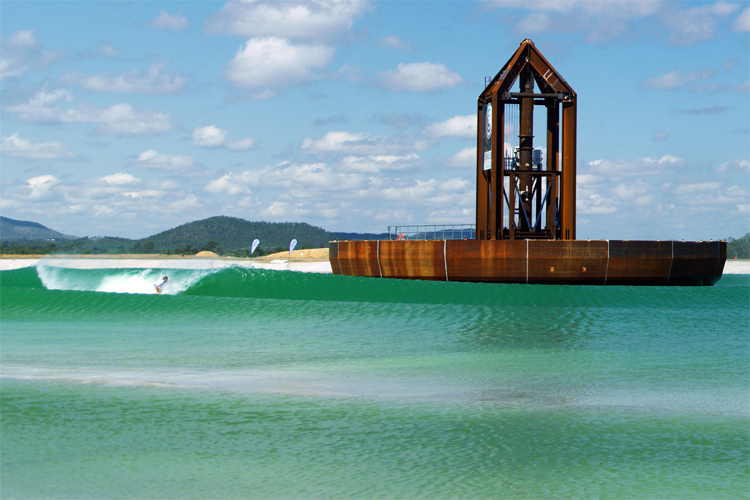 Surf Lakes: the 5 Waves concept produces 2,400 waves per hour | Photo: Surf Lakes