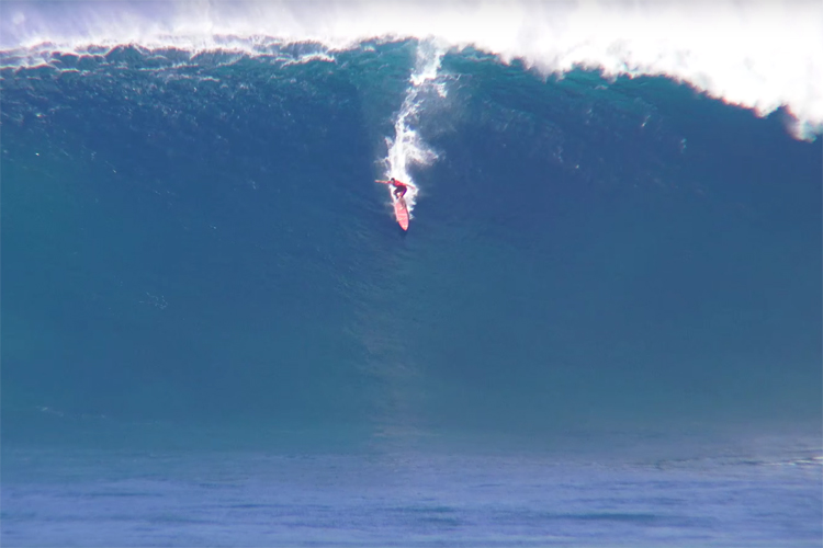 Aaron Gold: the biggest wave ever paddled