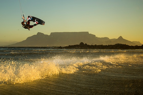 Aaron Hadlow: hitting the sun at Cape Town