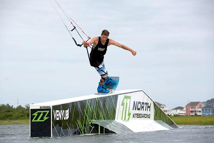 Aaron Hadlow joins North Kiteboarding