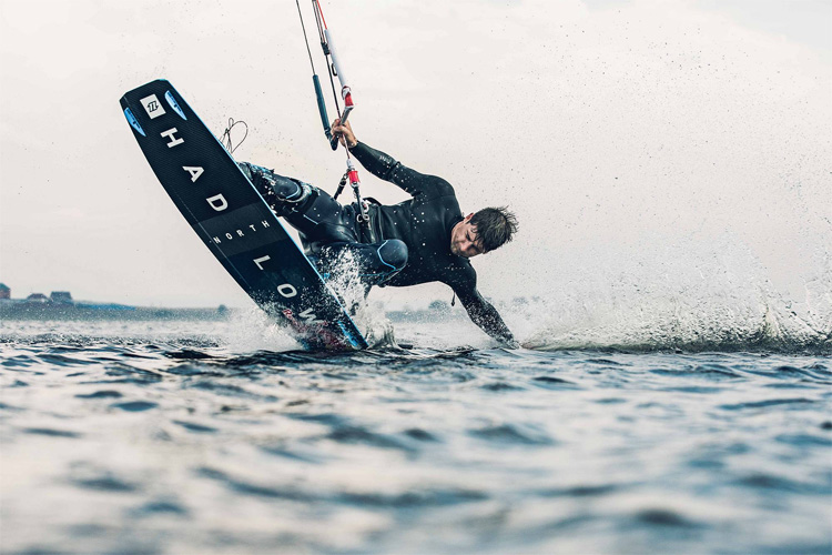 Aaron Hadlow: he rides for North Kiteboarding | Photo: North Kiteboarding