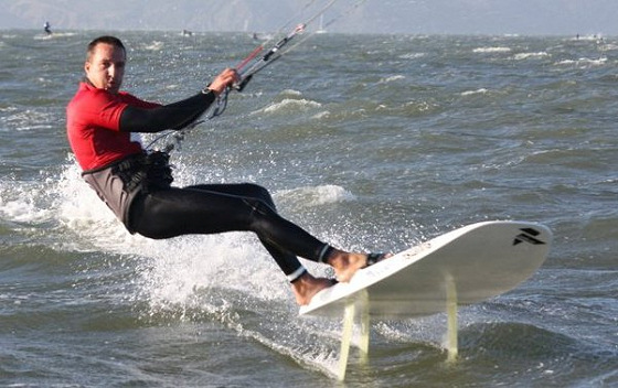 Adam Koch: he depresses windsurfers