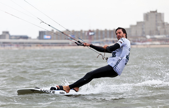 Adam Koch: first kite leader of the ISAF rankings