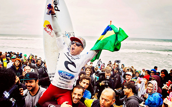 Adriano de Souza: making history at Bells Beach
