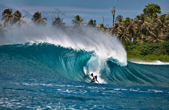 Adriano de Souza: barrel time in the Mentawai Islands