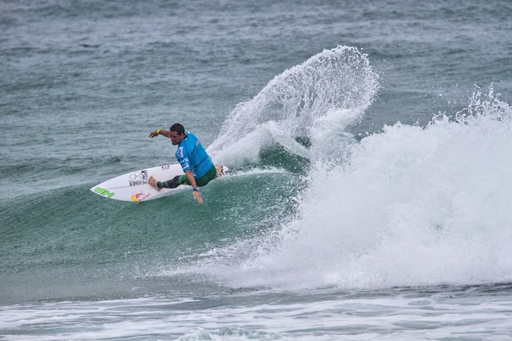 Adriano de Souza: first ever Brazilian to win the Australian Open of Surfing