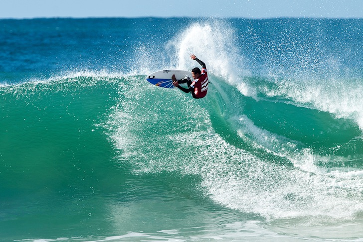 Adriano de Souza: he loves Jeffreys Bay
