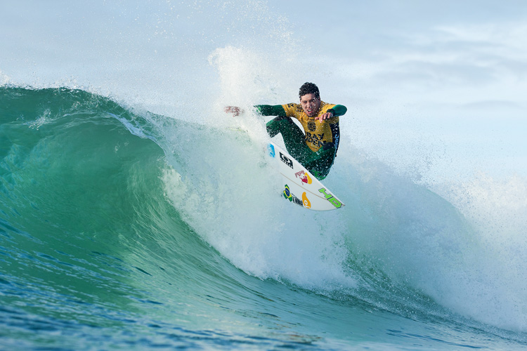 Adriano de Souza: defending leadership | Photo: Cestari/WSL