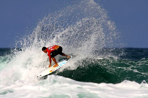 Adriano de Souza: the 2008 Billabong Surf Eco champion