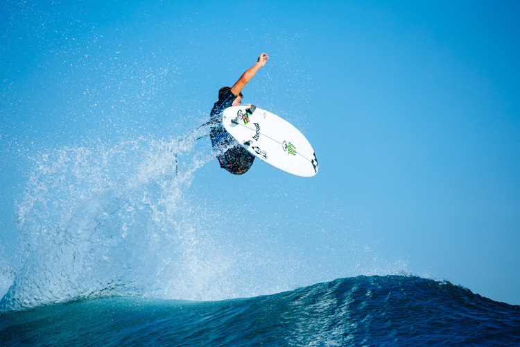 Griffin Colapinto: he was invited to surf at the inaugural Red Bull Airborne | Photo: Sloane/WSL