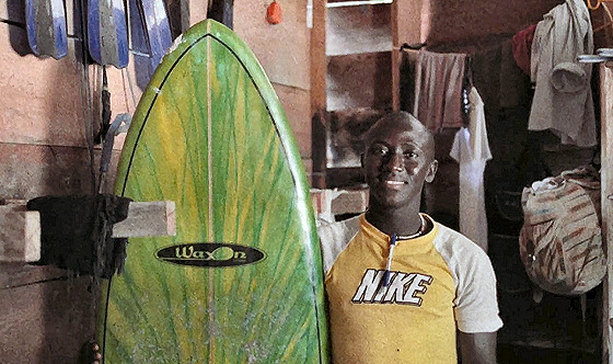 Bureh Beach Surf Club: Sierra Leone has great waves