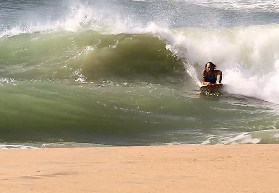 Africa: plenty of juicy shore breaks available