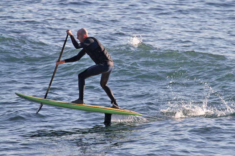 AHD Sealion Wings: a stand-up paddle foil board | Photo: AHD