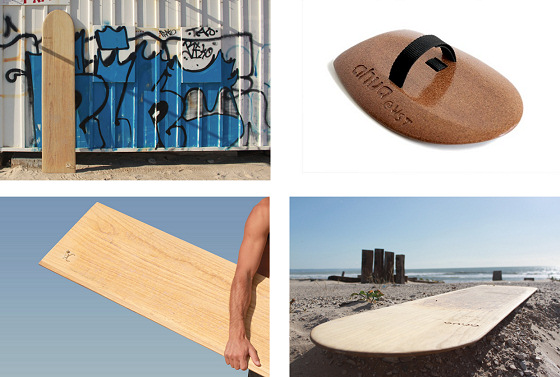 Ahua: boards made of cork
