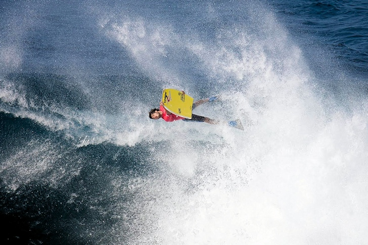 Pierre-Louis Costes: a monarch in the big air bodyboarding kingdom | Photo: IBA/Grimon