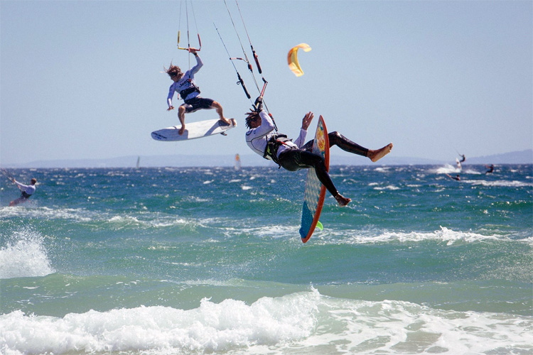 Air Games: GKA plans to blend big air and freestyle kiteboarding
