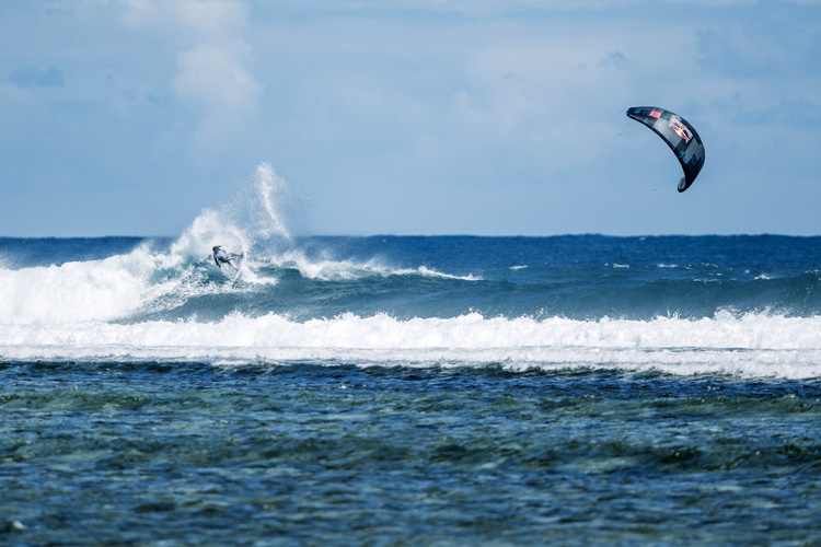 Airton Cozzolino: he was crowned 2017 GKA Kitesurf World Tour champion at One Eye | Photo: Van der Heide/GKA