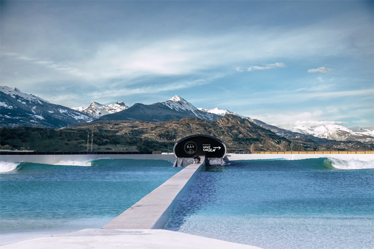 Alaïa Bay: the 8,500-square-meter Swiss surfing lagoon will offer 20 types of waves | Photo: Alaïa Bay