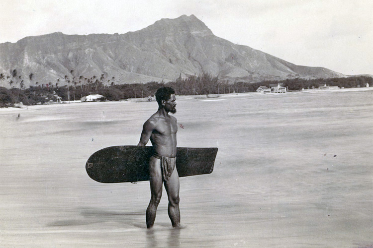 Alaia surfboard: used as far back as 400AD by the Hawaiian royalty as bellyboards