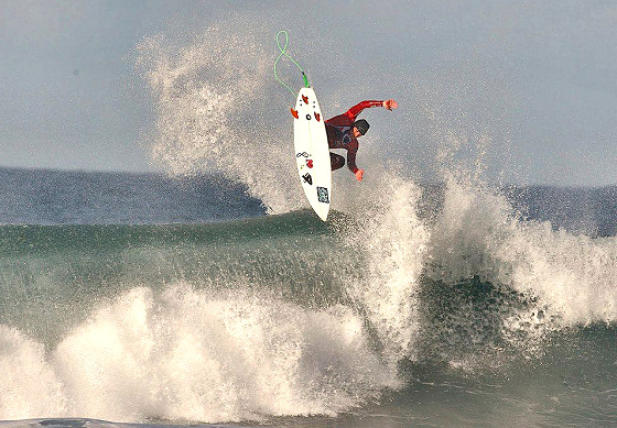 Alan Stokes: taking the lead of British surfing