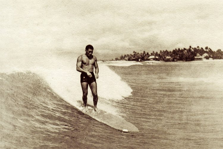 Albert 'Rabbit' Kekai: he started surfing in 1925