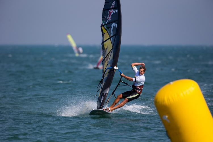 Alberto Menegatti: celebrating victory in Ulsan | Photo: PWA World Tour