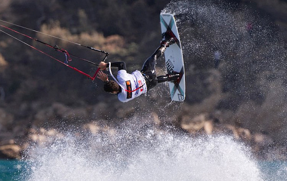 Alex Pastor: great air turn, dude