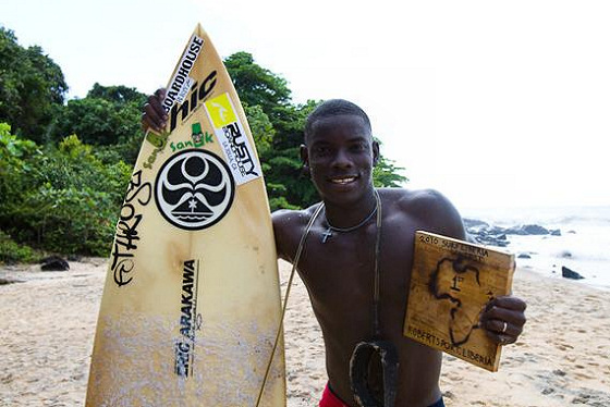 Alfred Lomax: Liberian surfing champion