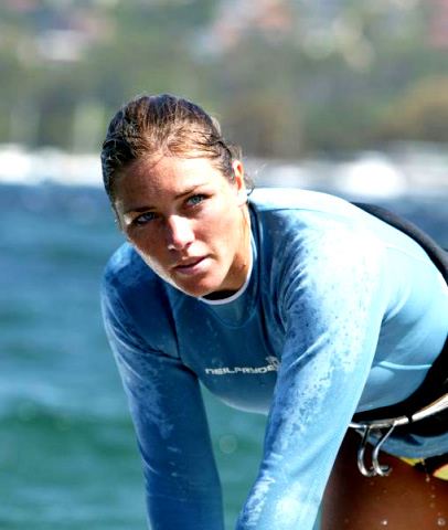 Alison Shreeve: another windsurfing title