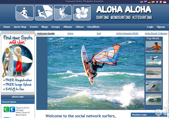 AlohaAloha.net: join your mates