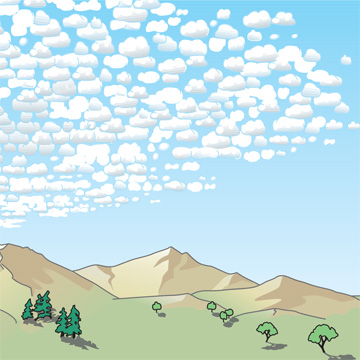 Altocumulus | Illustration: WMO