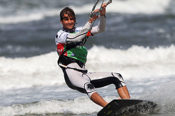 Alvaro Onieva: always the same old kiteboard winning formula