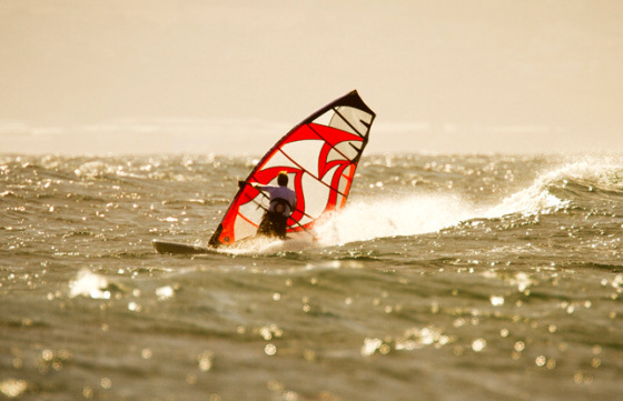 American Windsurfing Tour: sunny and windy