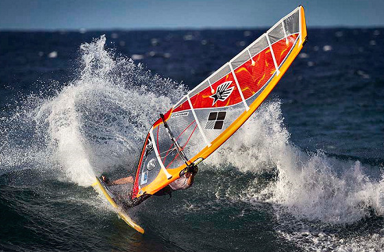 American Windsurfing Tour: the power cutback