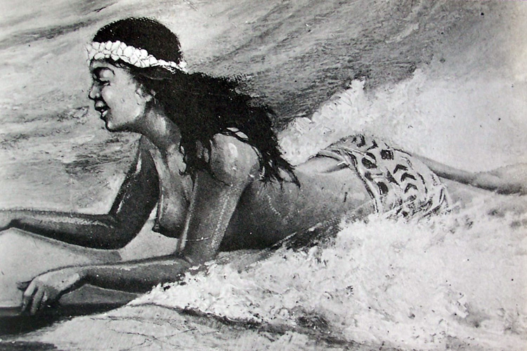 Paipo boards: ancient Hawaiians used them to ride waves