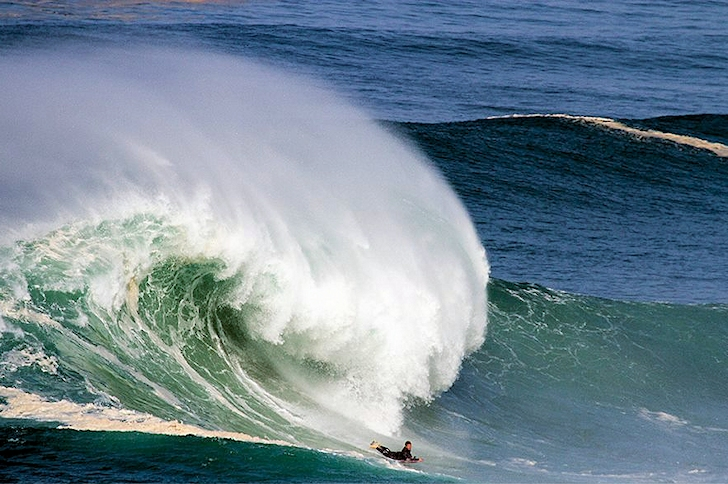 Andre 'Rasta' Bernardo: from Nazare with love | Photo: North Canyon Project